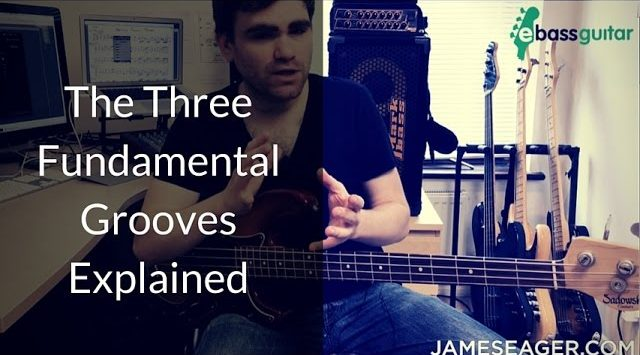 3 Fundamental Bass Grooves Explained - Bass Guitar Lessons