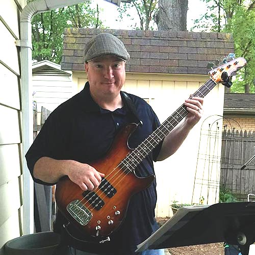 eBassGuitar Bass Course USA new Jersey Student John Cook
