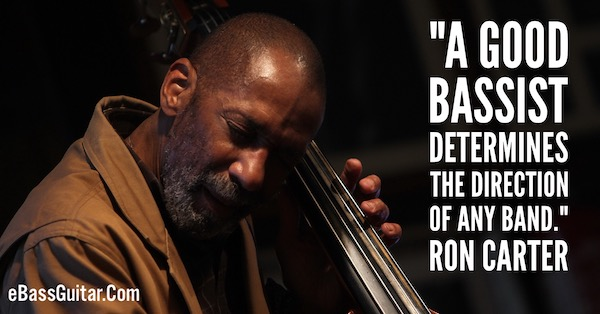 ron carter bass lessons
