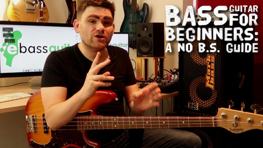 Bass Guitar For Beginners: A No B S  Guide
