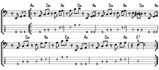 Bass lesson moondance Van Morrison