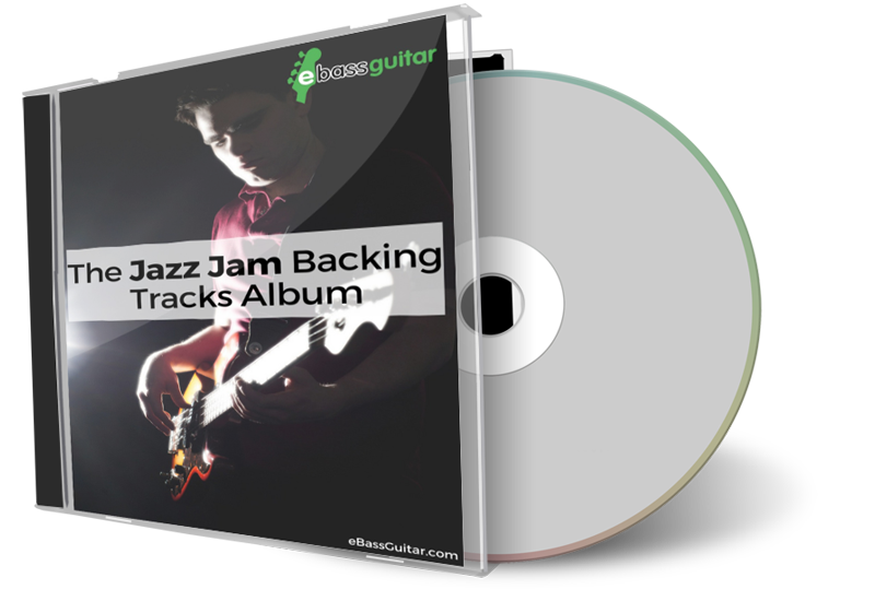 eBassGuitar Jazz Jam Backing Track Album Box Shot